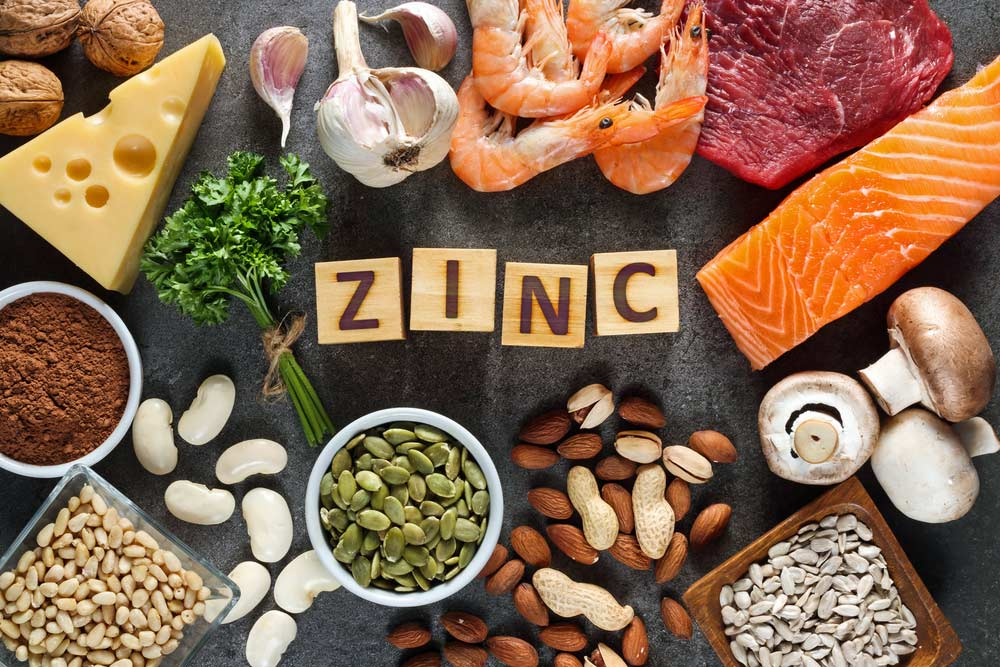 Using zinc to prevent respiratory illness in athletes deficient in zinc.